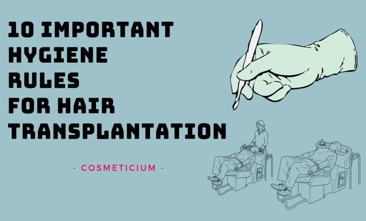 Hygiene Rules for Hair Transplant