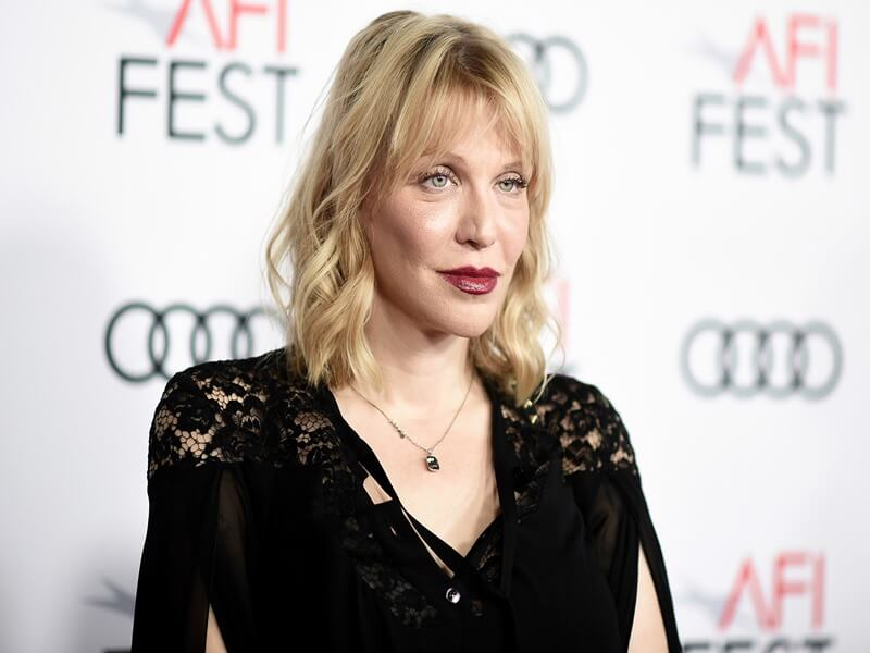 Courtney Love Breast Augmentation with Implants