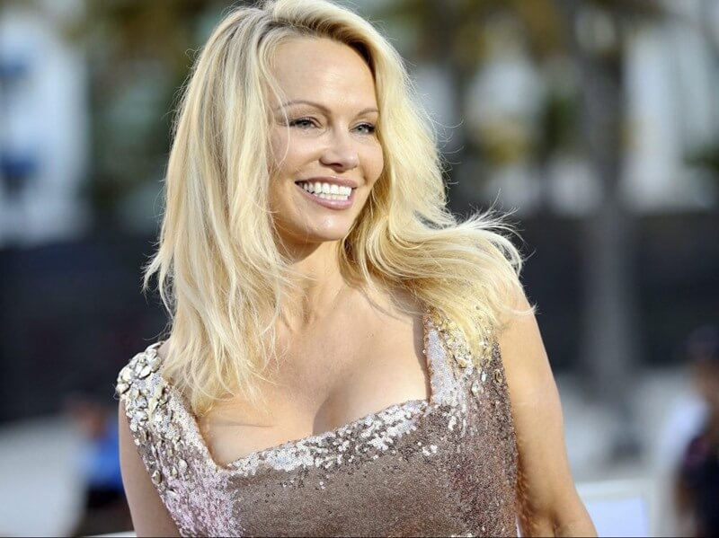 Pamela Anderson Breast Augmentation with Implants