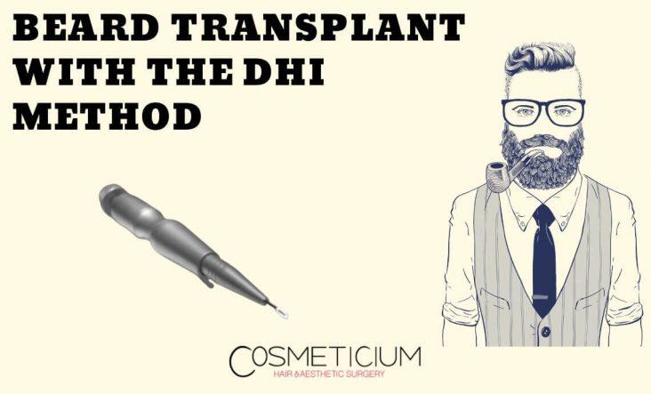 DHI Beard Transplantation