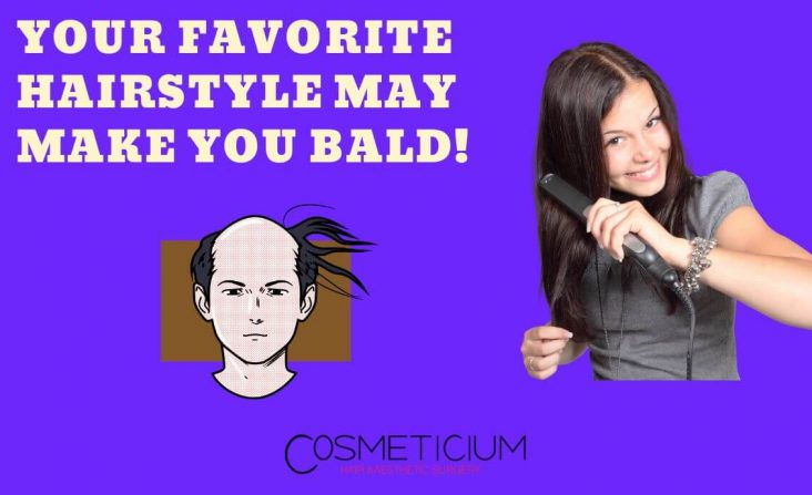 Favorite Hairstyle May Damage Your Hair