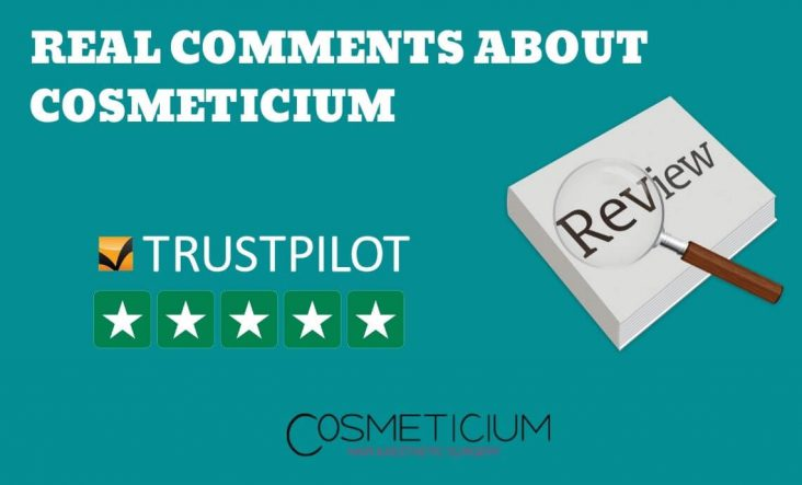 Real Trustpilot Reviews About Cosmeticium