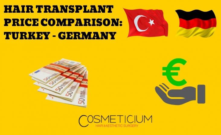 Hair Transplantation Cost in Turkey and Germany