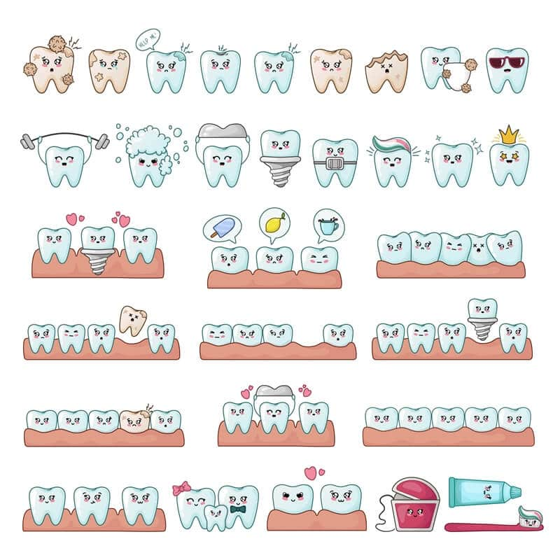 How Many Types of Dental Crowns for Children?