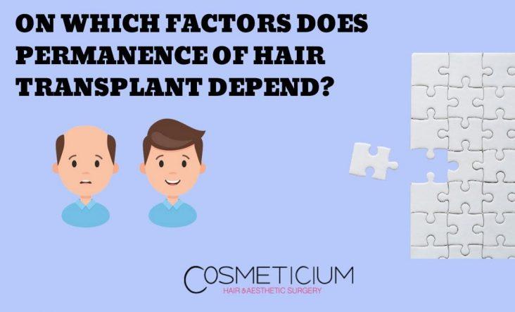 Permanence of Hair Transplant